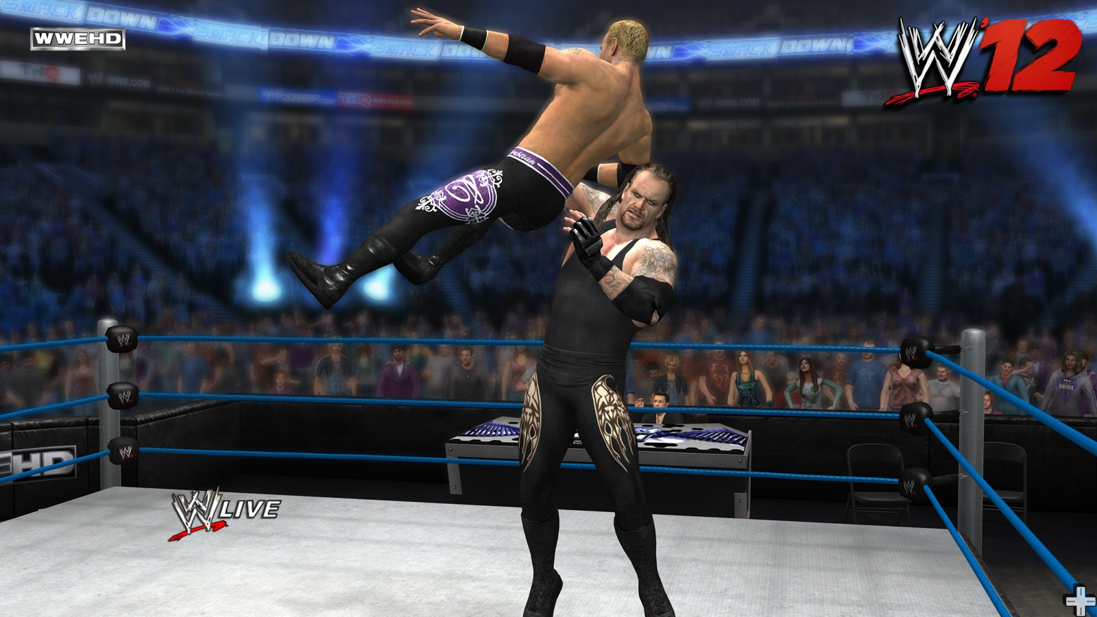 New Wrestling Game For Ps3 : New wwe screenshots from gamescon vgamingnews